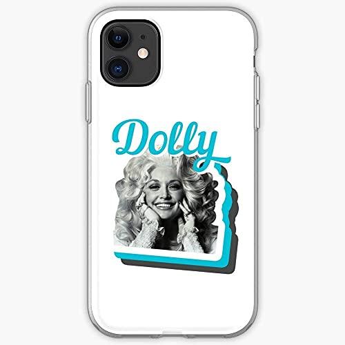 Compatibile con Samsung/iPhone 12/11/X/XR/7/Xiaomi Redmi 9A/Note 9/10/8 Pro Custodie Parton Retro Dolly Opry Radio Country Music Custodie per Telefoni Cover