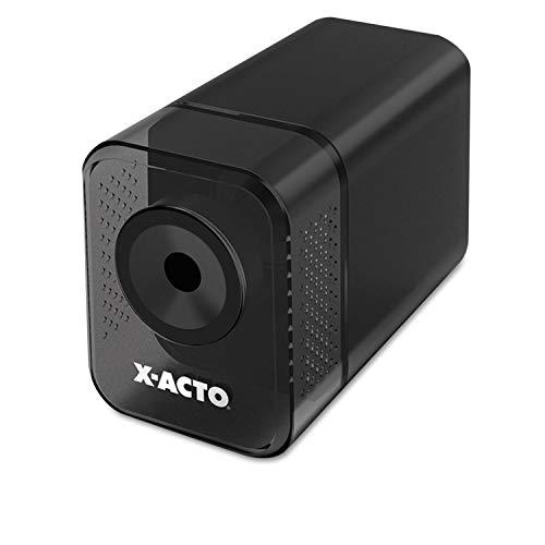 X-ACTO 1818 XLR Office Electric Pencil Sharpener, Charcoal Black