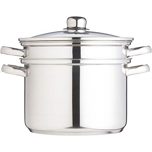 Kitchen Craft Clearview - Olla con Accesorios para cocinar a