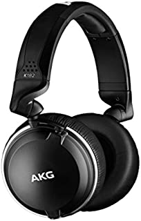 AKG Pro Audio AKG K182PROFESSIONAL CLOSED-BACK MONITOR HEADPHONESK182, Black, Standard Size (K182)