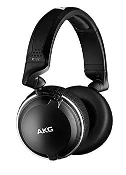 AKG Pro Audio AKG K182PROFESSIONAL CLOSED-BACK MONITOR HEADPHONESK182 Black Standard Size  K182