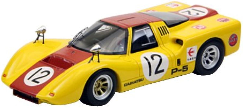 EBBRO 1 43 Daihatsu P5 1968 Japan GP   12 Yellow   Brown (japan import)