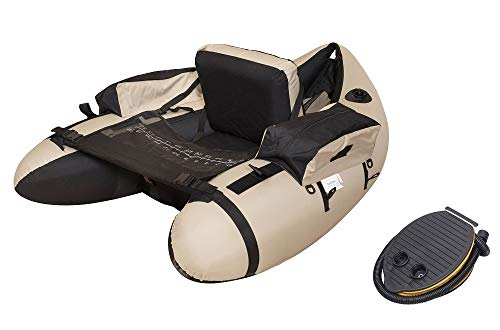 Wistar Inflatable Fishing Float Tube Boat with Inflatable seat a Foot air Pump