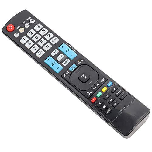 DAUERHAFT Control Remoto Universal de TV Digital de Larga Distancia de transmisión Control Remoto de TV Multifuncional, para Smart TV, para AKB73756567, para 42LD550