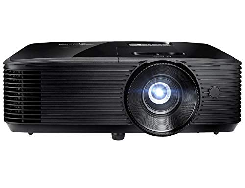 Optoma W400LVe WXGA Professional Projector | 4000 Lumens for Lights-on Viewing | Presentations in Classrooms & Meeting Rooms | Up to 15,000 Hour Lamp Life | Speaker Built in