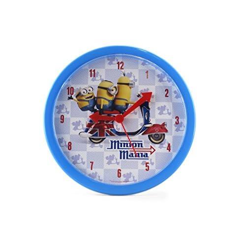Joy Toy Minions orologio da parete in plastica Analog 24 cm in regalo Confezione 90324
