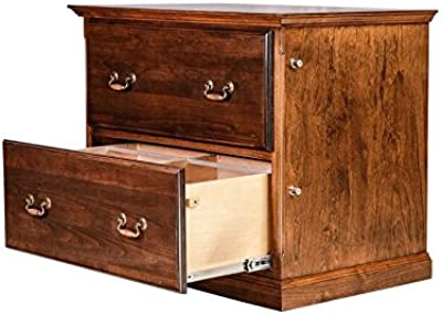 Amazon.com: Basyx 2-drawer lateral Archivo Pedestal: Kitchen ...