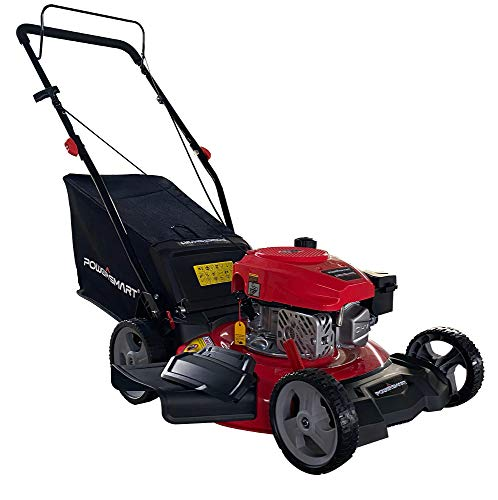 PowerSmart DB8621PR 21 inch 3-in-1 170cc Gas Push Lawn Mower