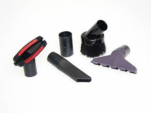 Nettoyage Tool Kit - 4 pièces - Piano brosse poussière / outil brosse / crevasse ronde / Petite brosse adaptée pour les sols avec Vacuum De Longhi, DIRT DEVIL, ELECTROLUX, ELDOM, FAM, HOLLAND ELECTRO, LG, NILFILSK, NUMATIC, MULTIPRO, PHILIPS, PROGRESS, PRIVILEG, ROWENTA, TEFAL, TORNADO, VOLTA, URALUX, VAX, etc. - Accessoires de vide