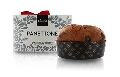 Giraudi Panettone Torino al Cioccolato, panettone Artigianale, 750g