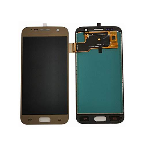 Marco de Pantalla táctil de teléfono móvil Pantalla LCD Reemplazo Pantalla For Samsung Galaxy S7 SM-G930F S7 G930 Pantalla LCD Táctil Digitalizador Asamblea OLED O TFT Panel digitalizador de Pantalla