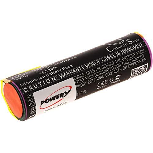 Akku für Wolf Garten Power 60, 3,7V, Li-Ion