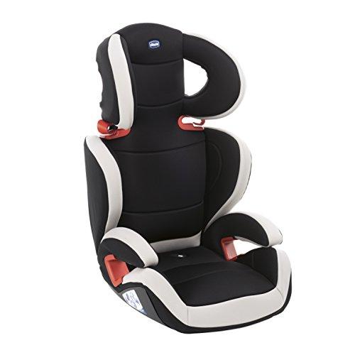 Chicco Key 23 Auto Kindersitz 15-36 kg, Verstellbarer Kindersitz Gruppe 2/3 für Kinder von 3-12 Jahren, Mit Verstellbarer Höhe und Breite, Black Night