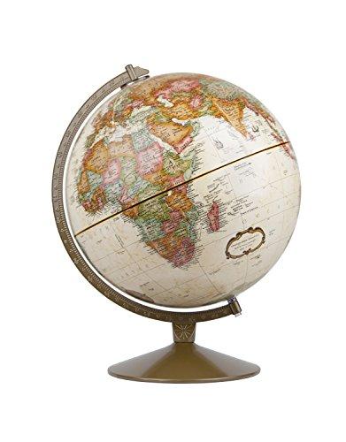 Replogle Globes Franklin Globe, Antique Ocean, 12-Inch Diameter