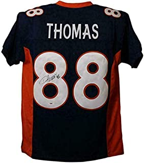 Signed Demaryius Thomas Jersey - Blue Size XL 13538 - PSA/DNA Certified - Autographed NFL Jerseys