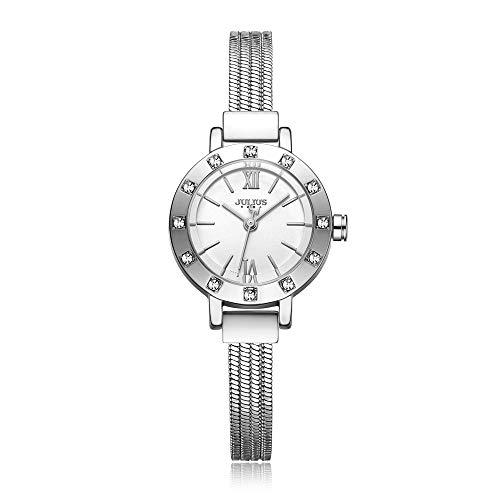 LNNANA Armband horloge dames stalen riem mode trend kleine wijzerplaat waterdicht quartz horloge vrouwelijke horloge JA-715