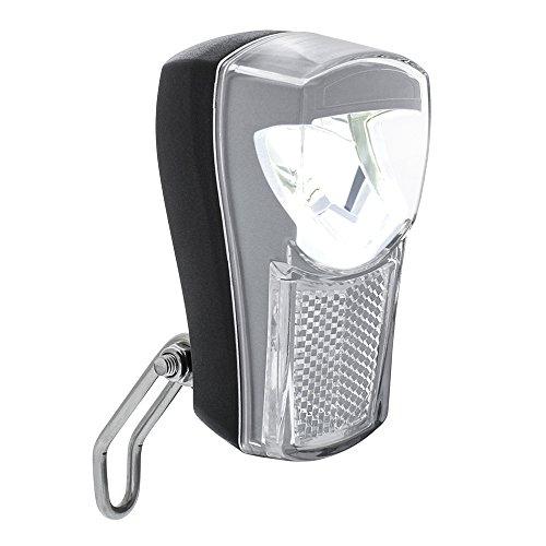 BV Luz Delantera para Bicicleta, Faro LED para Bicicleta Super Brillante, Impermeable Vendimia Bike Lámpara de luz Frontal (Negro)