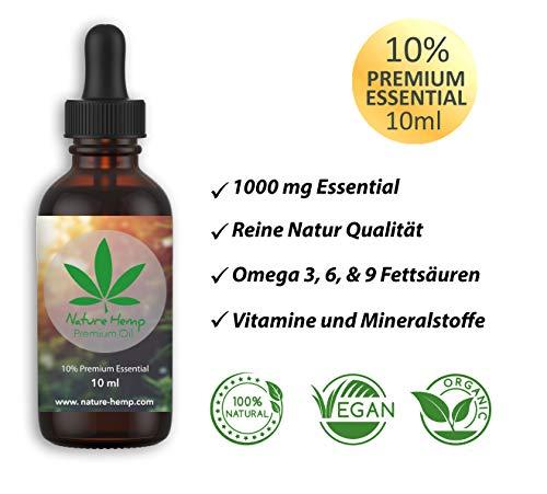 Nature Hemp 10ml 10% ESSENZ | Naturprodukt aus Österreich