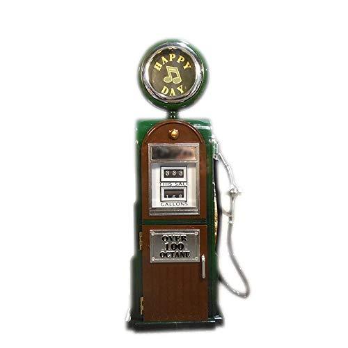 Violon Retro Projecteur de Film phonographe Machine à Coudre Boîte à Musique Ballerine Boîte à Bijoux Cadeau d anniversaire Boîte à Musique MJZGYY (Color : Gas Station Green, Size : Libre)