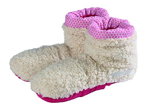 Warmies Slippies BOOTS Hausschuhe mit Lavendel-Füllung Gr. 37-42 beige