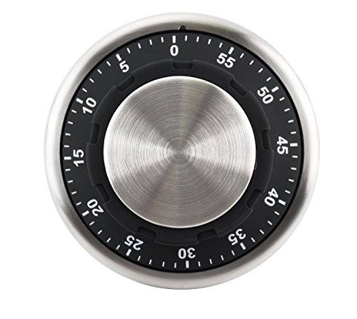 Prodmaison - Timer magnetico a forma di cassapanca, in acciaio inox