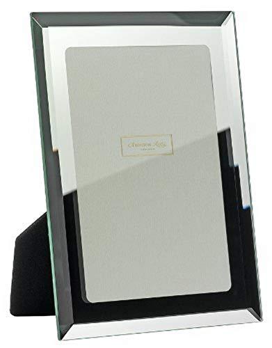 Addison Ross - Cornice portafoto in Vetro specchiato con Bordo smussato, 20x25 cm