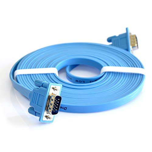 Our shop most popular Isali Vga Cable Flat Gorgeous vga line Display Computer 3 Data tv M