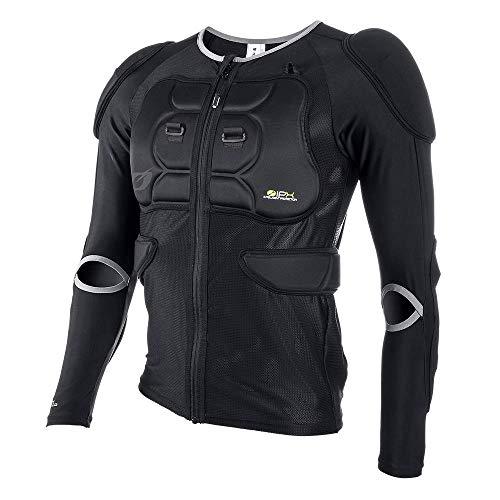 O'Neal | Chaqueta Protectora | Motocross Enduro | Malla elástica de 4 vías/Lycra, con Espuma de Poliuretano, Relleno de bioespuma | Chaqueta Protectora BP | Adultos | Negro | Talla M