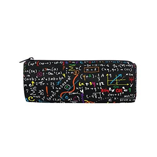 Bennigiry, astuccio per matite matematiche lineari – funzionale astuccio per cancelleria con cerniera per studenti, astuccio regalo da viaggio