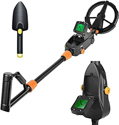 TELAM Metal Detector for Kids High Accuracy Adjustable Sensitivity Treasure Hunter Gold Digger Lightweight Metal Detector with LCD Display Audio Detection Indication and Waterproof Search Coil