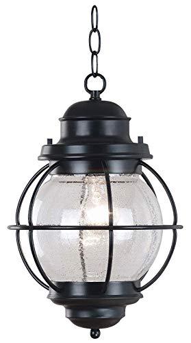 Kenroy Home 90965BL Hatteras Lanterns, Medium, Black