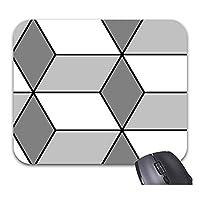 ダイヤモンドの立方体のマウスパッドの流行のオフィスのデスクトップの付属品の大型