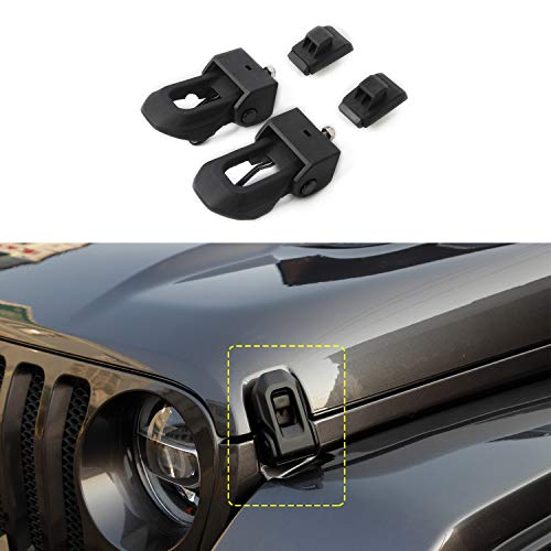 RT-TCZ Gear Shift Panel Trim Cover ABS Frame Bezel for Jeep Wrangler Accessories 2018-2021 JK JKU Sport X Sahara Rubicon Red Carbon Fiber Color
