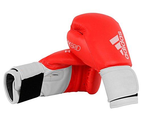 Adidas Hybrid 100Boxhandschuh–rot/weiß