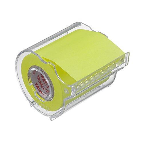 ヤマト 付箋 メモック ロールテープ カッター付き 50mm×10m RK-50CH-LE