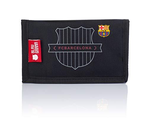 FC Barcelona Portafoglio FC-245 The Best Team 7, 14 cm, nero