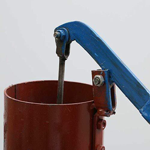 FAEIO Einfach zu verwenden Stabil und sicher Handpumpe Wasserpumpe - Mit viereckiger Basisstütze - Wasserdicht und rostfrei Antik Vintage Gartenpumpe - Geeignet für Gartenterrassen usw