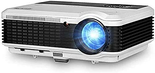 FDGSD LCD HDMI Proyector Bluetooth HD 4600lm 2020 X&Y Zoom WiFi Proyector de Cine en casa inalámbrico 1080P Compatible con Airplay EShare Android OS USB DVD BLU Ray Gmae Laptop TV Digital P