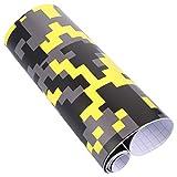 BESPORTBLE Película adhesiva para coche de camuflaje, película adhesiva para coche de vinilo