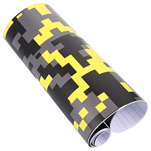 BESPORTBLE - Película adhesiva para coche, diseño de camuflaje