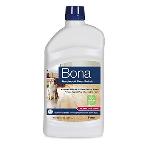 Bona Polish-High Gloss, 32 Fl Oz (Pack of 1), Clear