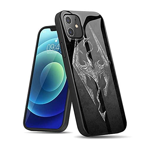 CBiBaMEi iPhone 12 Pro Funda, Negro Carcasas Suave TPU + IMD Silicone Funda Ultra Delgada Caso Anti Rasguños Anti Choque con un patrón por iPhone 12 Pro #C010