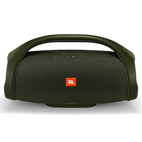 JBL Boombox Portable Bluetooth Waterproof Speaker (Forest Green) (Renewed)
