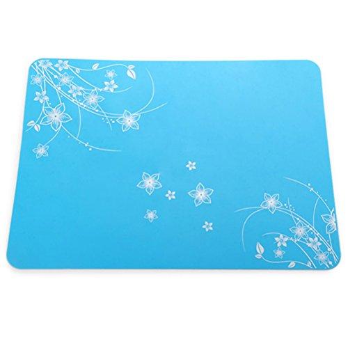 Pixnor Tapis de cuisson multifonction en silicone résistant à la chaleur (bleu)