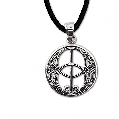 etNox-Anhänger ''Silver Chalice Well'' 925er Silber