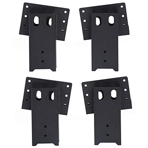 ADLER Multi-Use Outdoor 4x4 Compound Angle Brackets for Deer Stand Hunting Blinds Shooting Shack,...