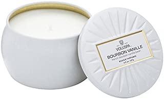 Voluspa Bourbon Vanille Petite Tin Candle, 4 Ounces