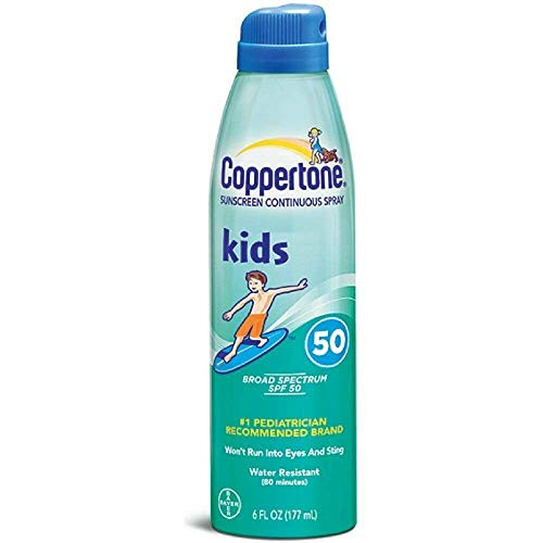 Coppertone Spray solaire en continu Kids SPF 50 177 ml