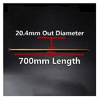 拉伸弹簧 1pc 700mmの長さPVCの管の曲線の管の曲げツールの曲線ばね/手動PVCパイプベンダーハウス装飾延長春(色:1ピース、サイズ:20.4dx700mm長さ) 圧縮ばね (Color : 1pc, Size : 20.4ODx700mm Length)