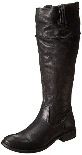 FRYE Women's Shirley Artisan Tall Riding Boot, Black, 6.5 M US